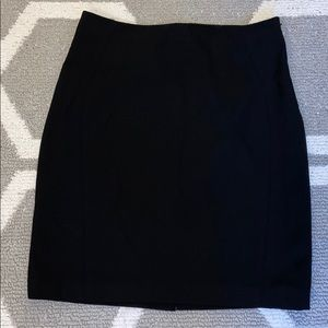 The Limited Black Suit Skirt